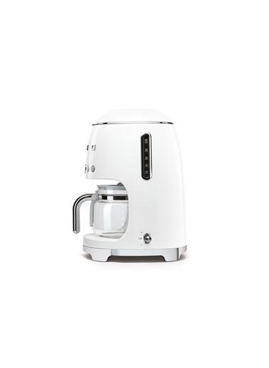 Smeg Filtre Kahve Makinesi Beyaz Beyaz